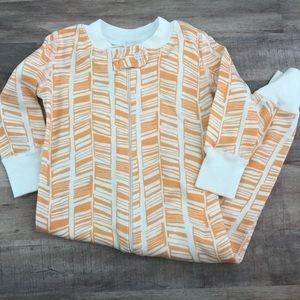 Size 70 HANNA ANDERSSON orange patterned sleeper
